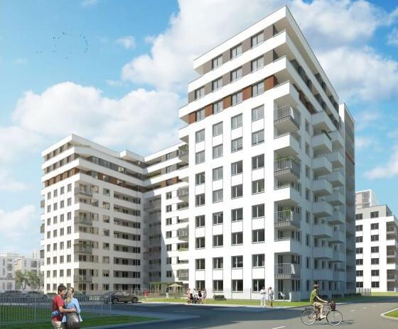 Osiedle Avia 7 Czyżyny - wygląd przyszłego nowego budynku