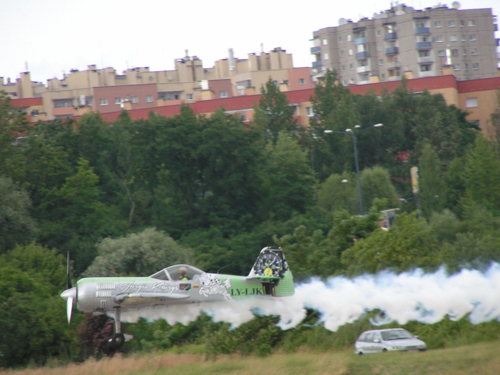 Pokazy lotnicze w Krakowie Czyżynach w Muzeum Lotnictwa