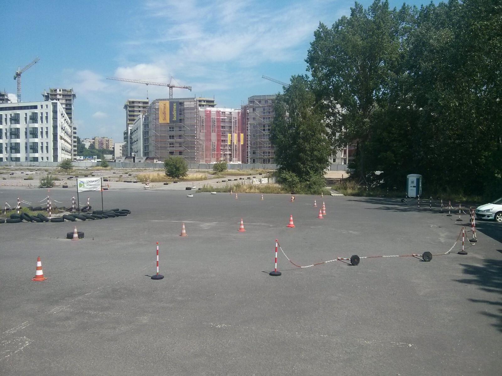 Miejsce, w którym może powstać nowy park dla mieszkańców w Krakowie Czyżynach