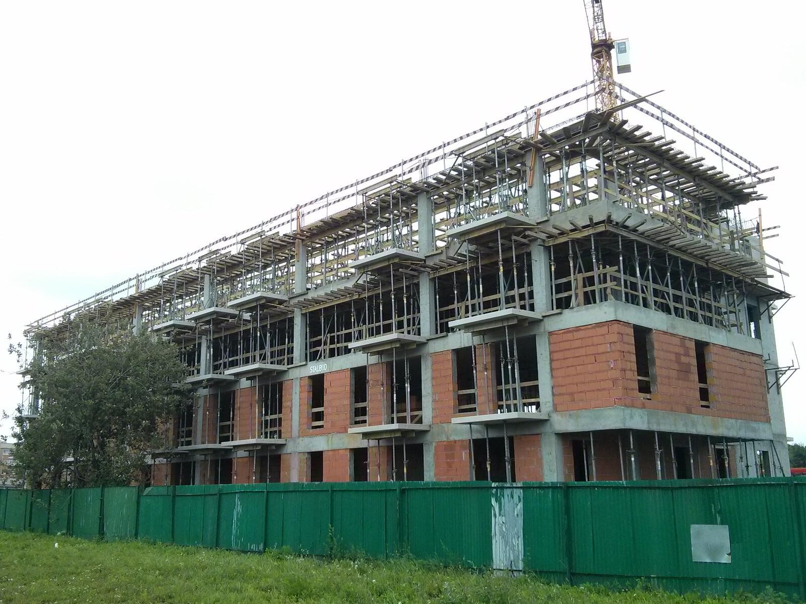 Budowa II etapu inwestycji Murapol Bieńczycka Kraków w Czyżynach